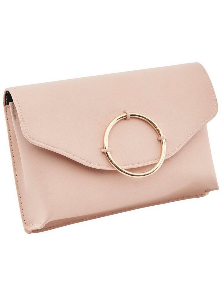 Only Detaillierte Clutch in Peachy Keen