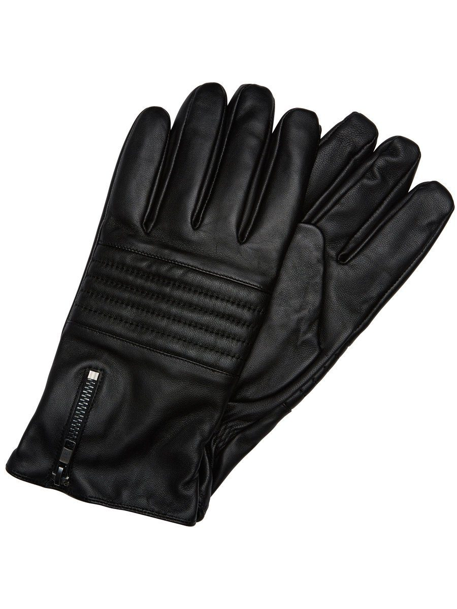 Selected Leder- Handschuhe