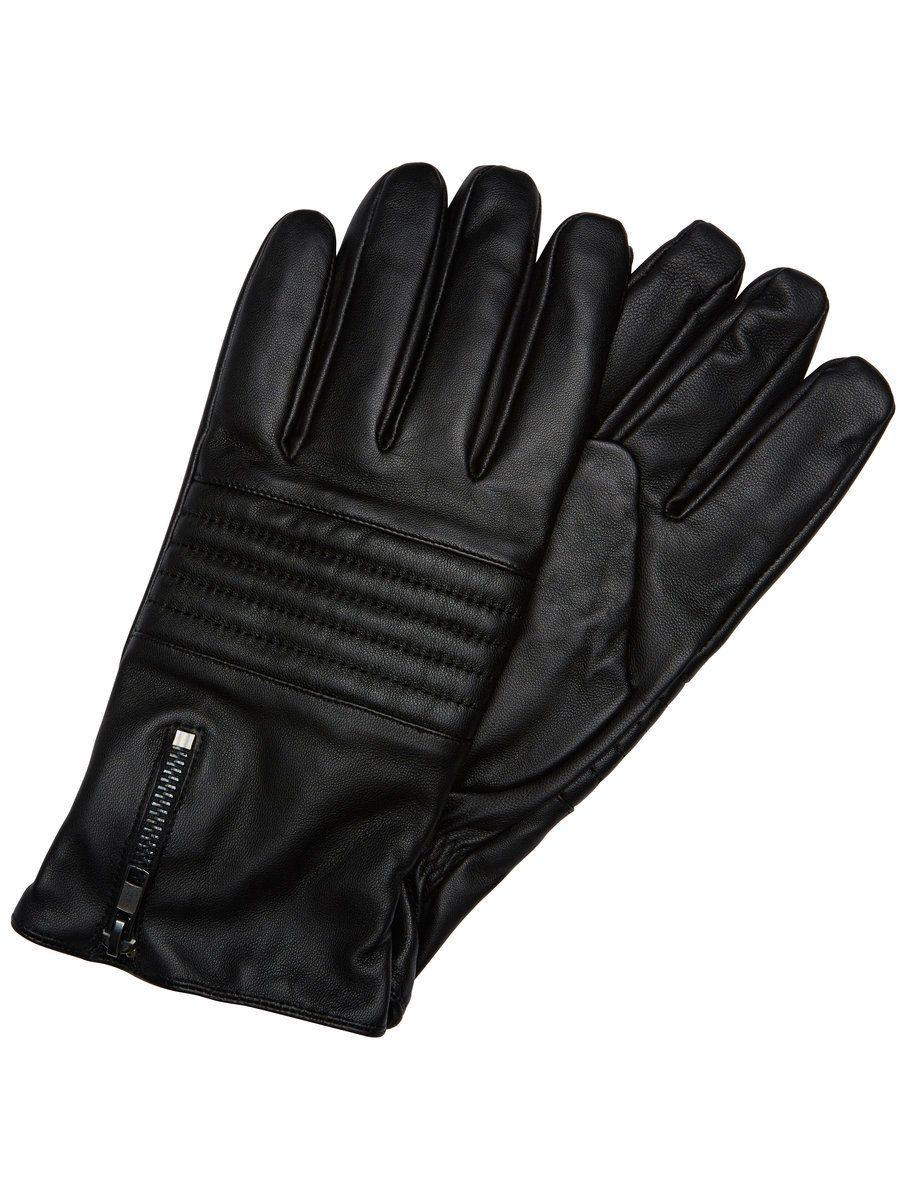 Selected Leder- Handschuhe