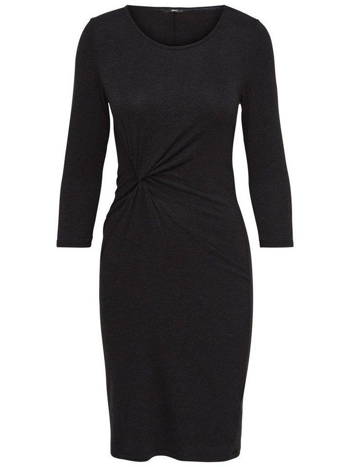 Only Detailliertes Kleid in Black