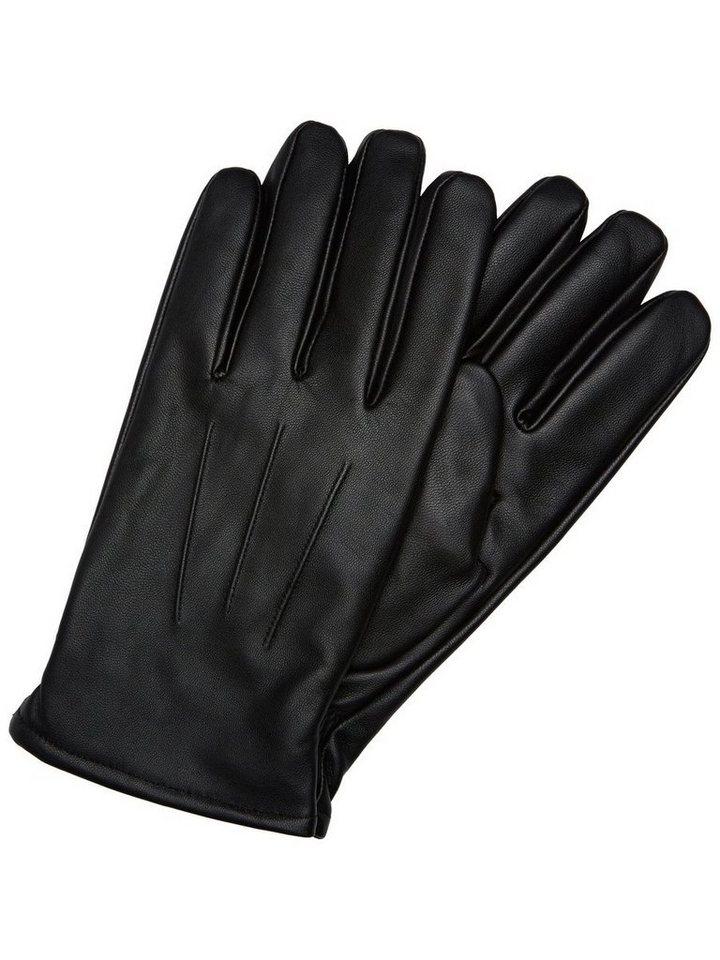 Selected Klassische Handschuhe in Black