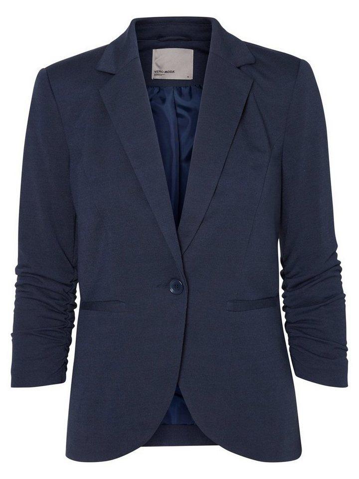 Vero Moda 3/4-ärmeliger Blazer in Navy Blazer