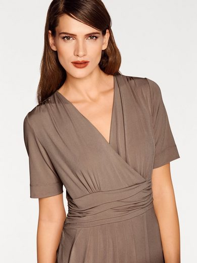 Ashley Brooke By Heine Jersey Dress In Wrap-optics
