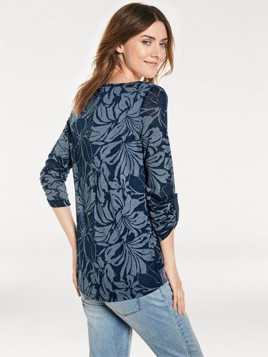 B.C. BEST CONNECTIONS by Heine Shirt-Zweiteiler mit Blumendruck