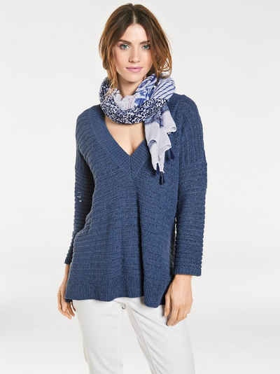 B.C. BEST CONNECTIONS by Heine V-Pullover Oversized Sale Angebote Reuthen