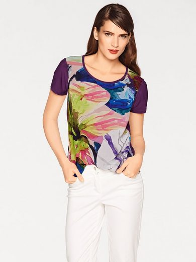 Ashley Brooke By Heine Blouses Shirt Flowers
