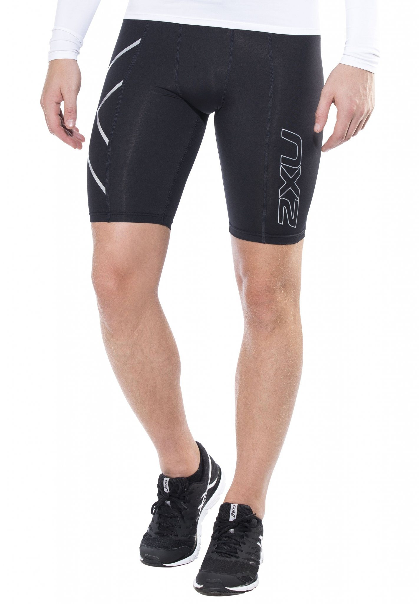 2xU Laufhose »Compression Shorts Men«