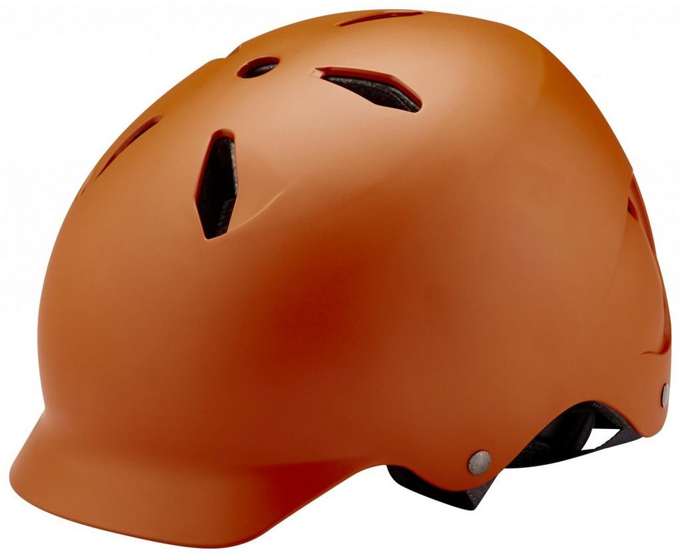 Bern Fahrradhelm »Bandito EPS Kinderhelm Thin Shell« in orange