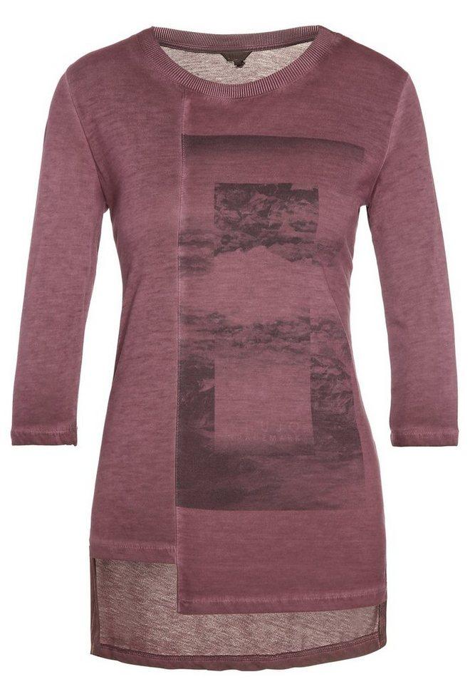 khujo 3/4-Arm-Shirt »TIROSKE« in rot