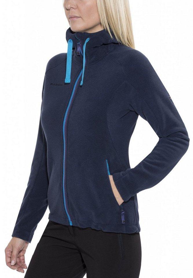 Mammut Outdoorjacke »Yampa Advanced ML Hooded Jacket Women« in blau