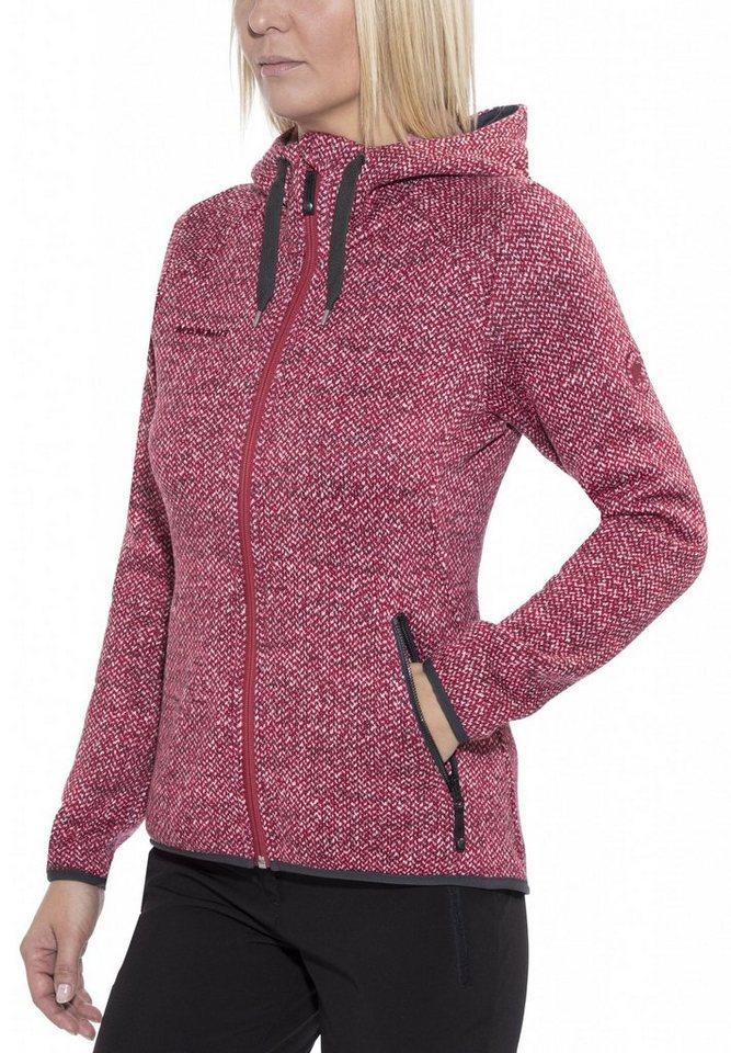 Mammut Outdoorjacke »Kira Tour ML Hooded Jacket Women« in rot