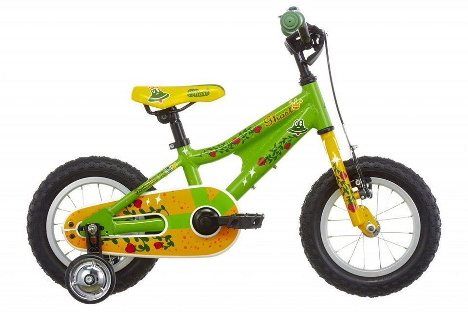 """Ghost Kinderrad »Powerkid 12""""« in grün"""