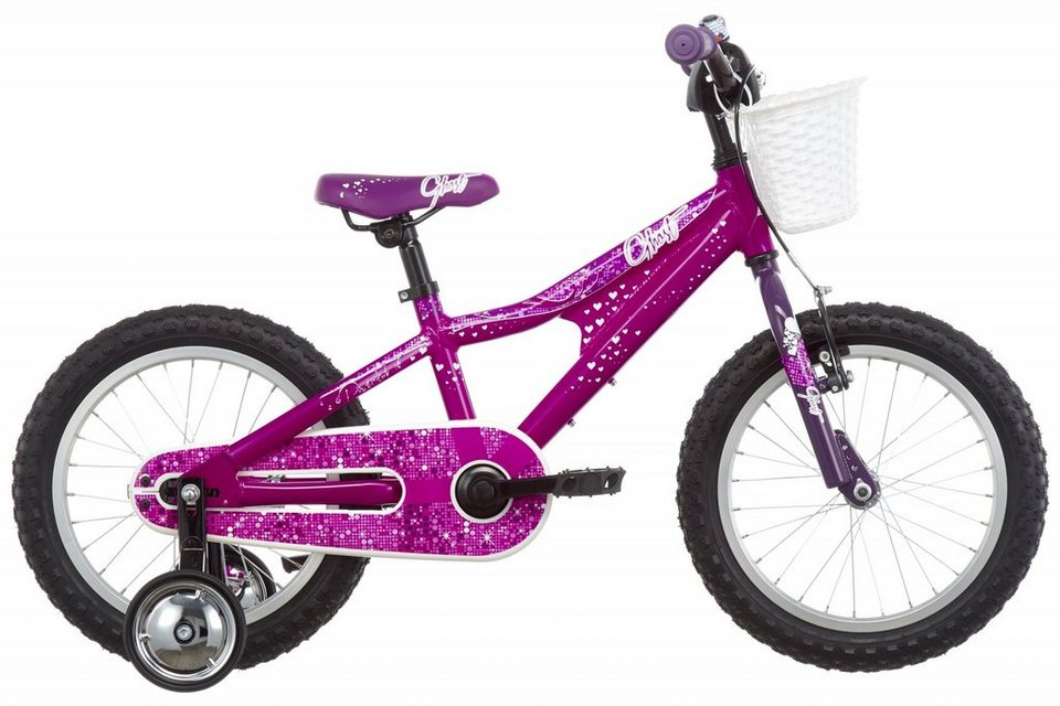 "Ghost Kinderrad »Powerkid 16""« in pink"