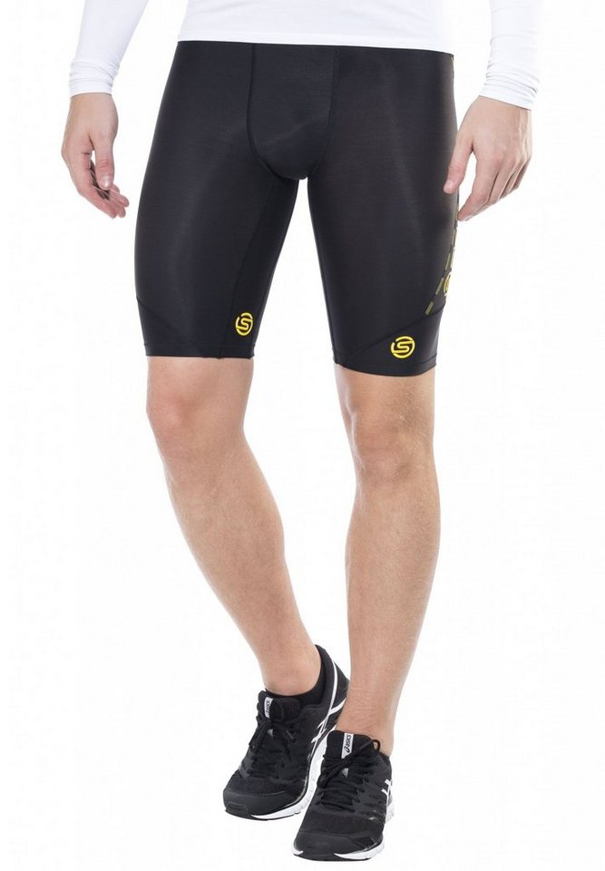 Skins Laufhose »DNAmic Half Tights Men« in schwarz