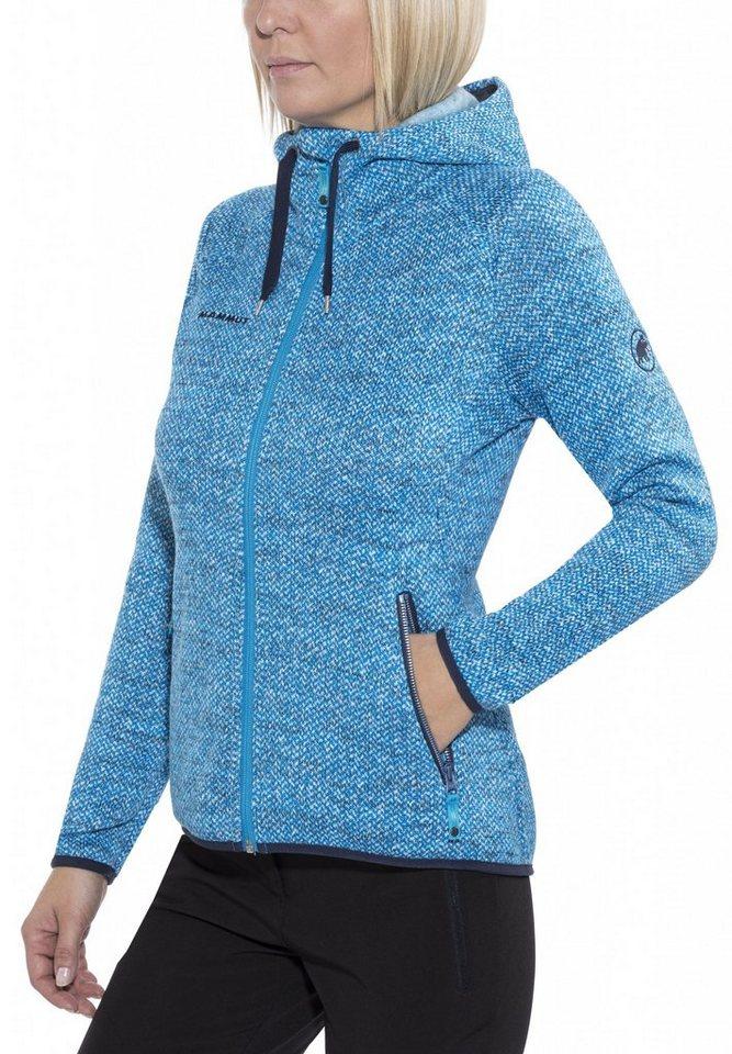 Mammut Outdoorjacke »Kira Tour ML Hooded Jacket Women« in blau