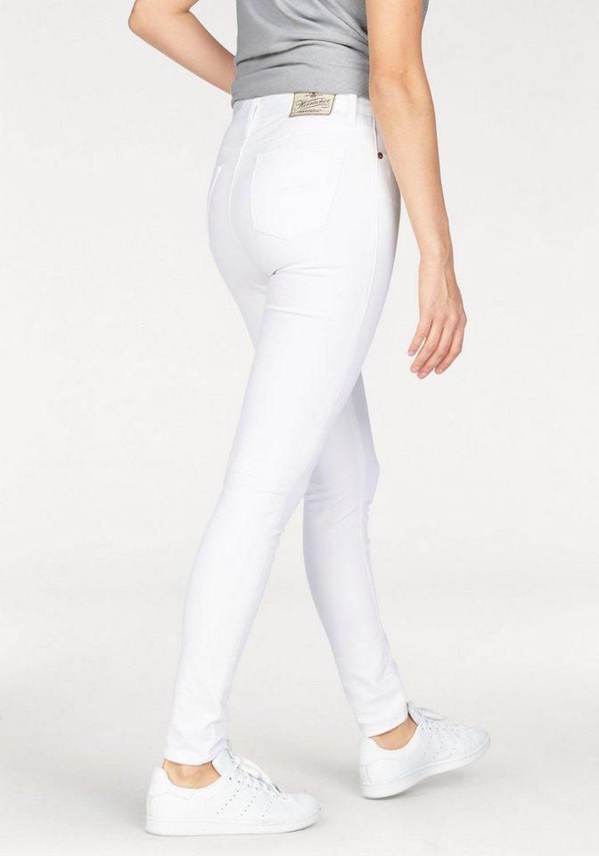 Herrlicher Slim-fit-Jeans »Super Slim« mit Stretch-Anteil in weiß