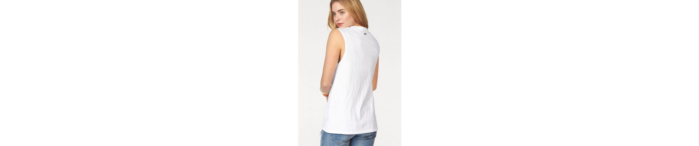 Replay T-Shirt, mit bunten Applikationen