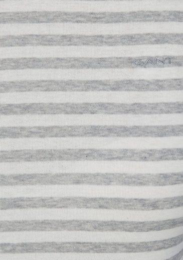 Gant Langarmshirt, im Ringel-Look