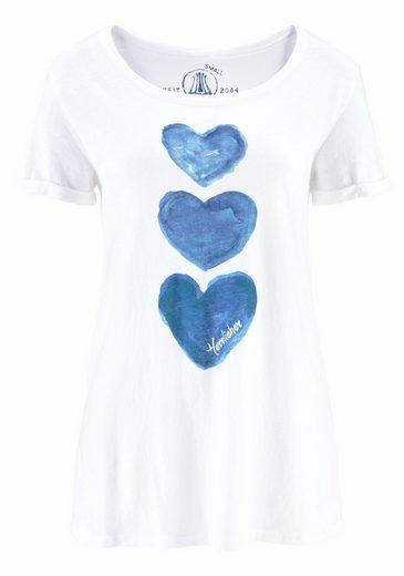 Herrlicher T-Shirt Layla, mit tollem Front-Print