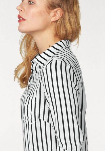 Khujo Shirt Blouse Connystark, In Stripes Design