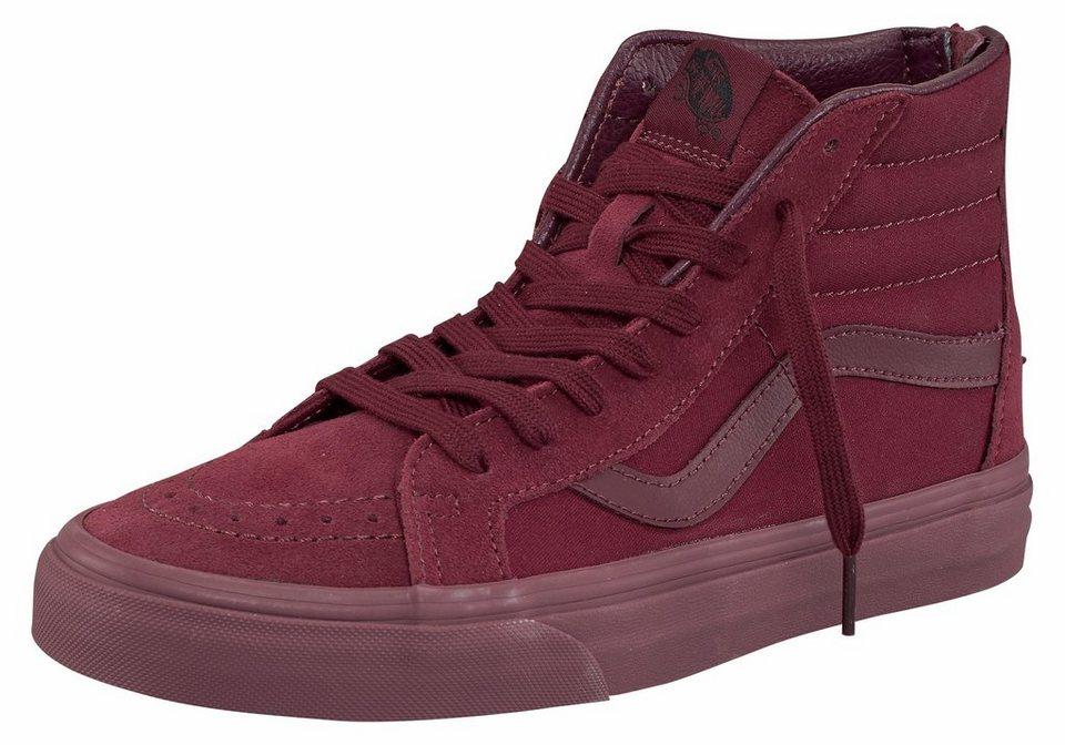 Vans »SK8-Hi Reissue Zip (Mono)« Sneaker in bordeaux