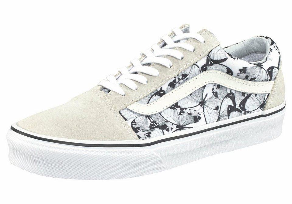 Vans »Old Skool Butterfly« Sneaker in weiß-bedruckt