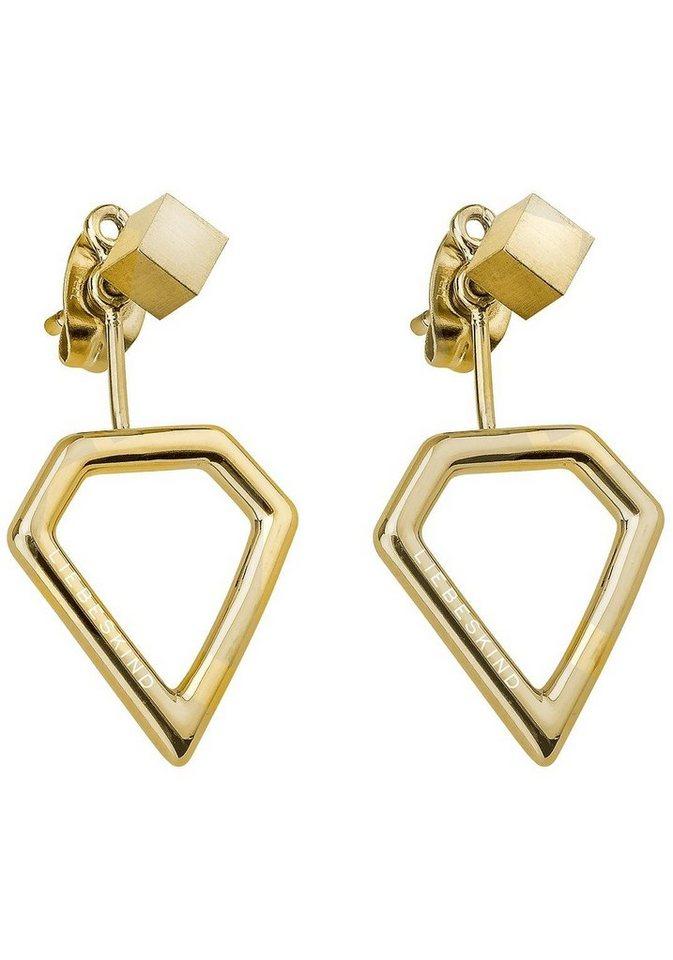 Liebeskind Paar Ohrstecker »LJ-0044-E-16« mit abnehmbaren Einhängern in goldfarben