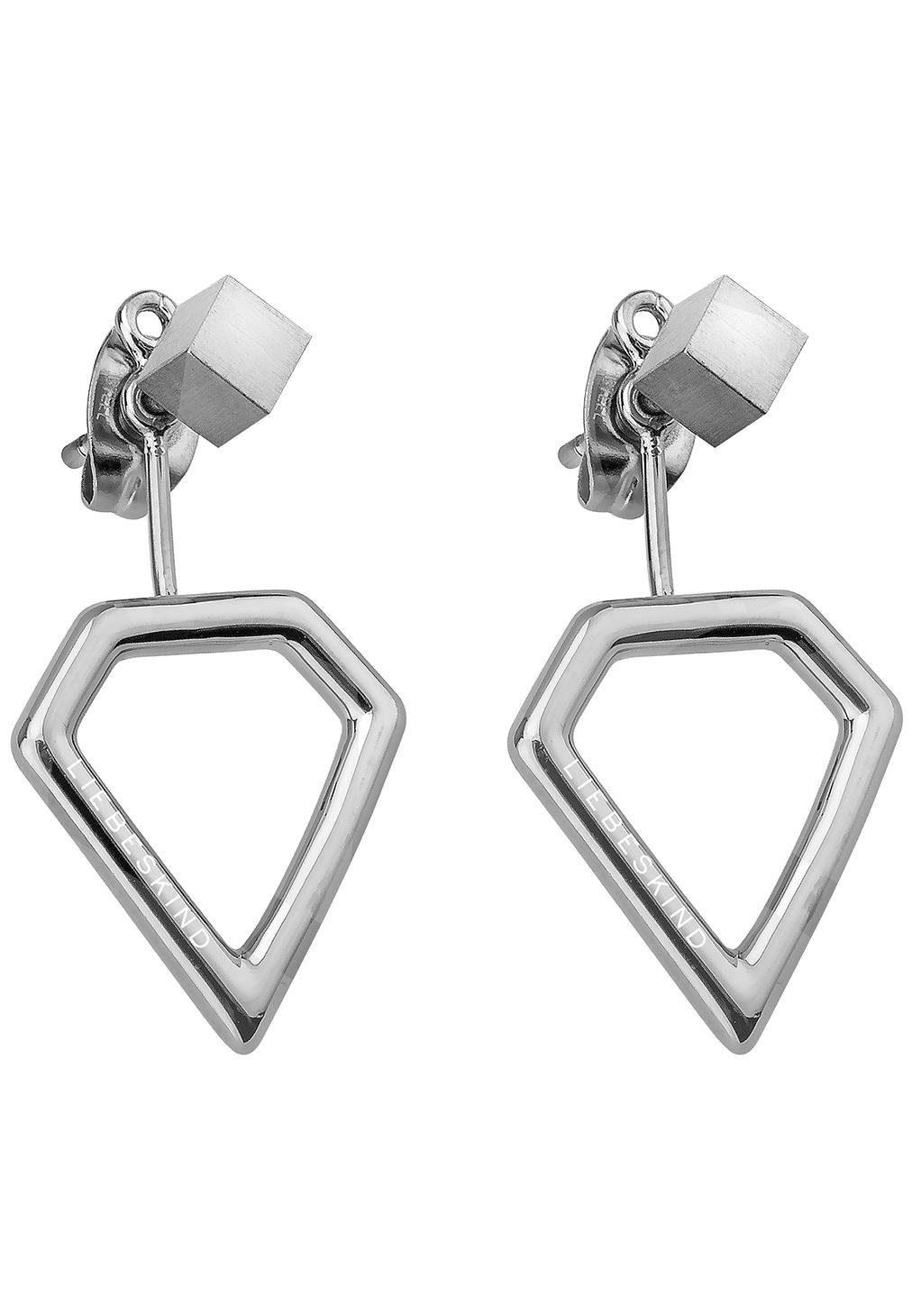 Liebeskind Paar Ohrstecker »LJ-0043-E-16« mit abnehmbaren Einhängern