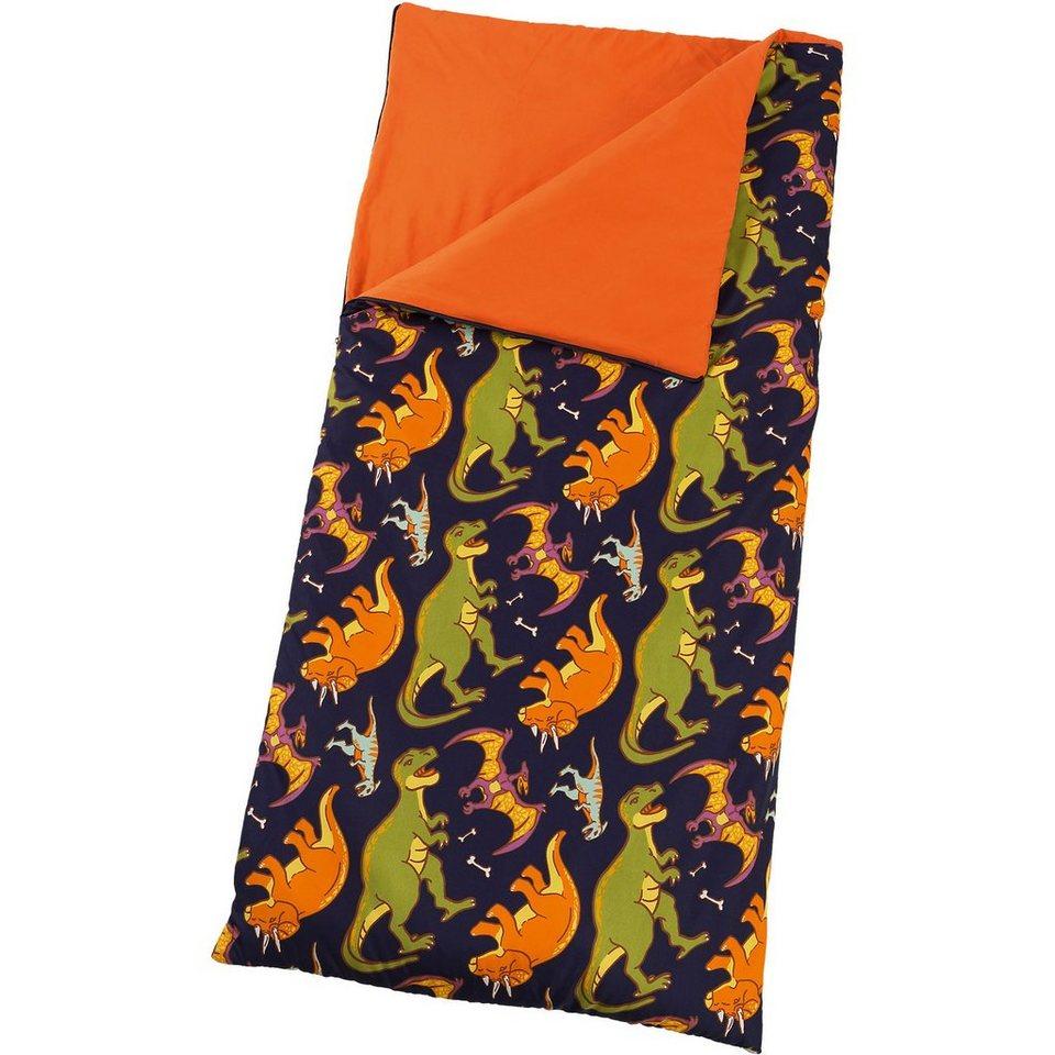 KidKraft Schlafsack, Dinosaurier in orange