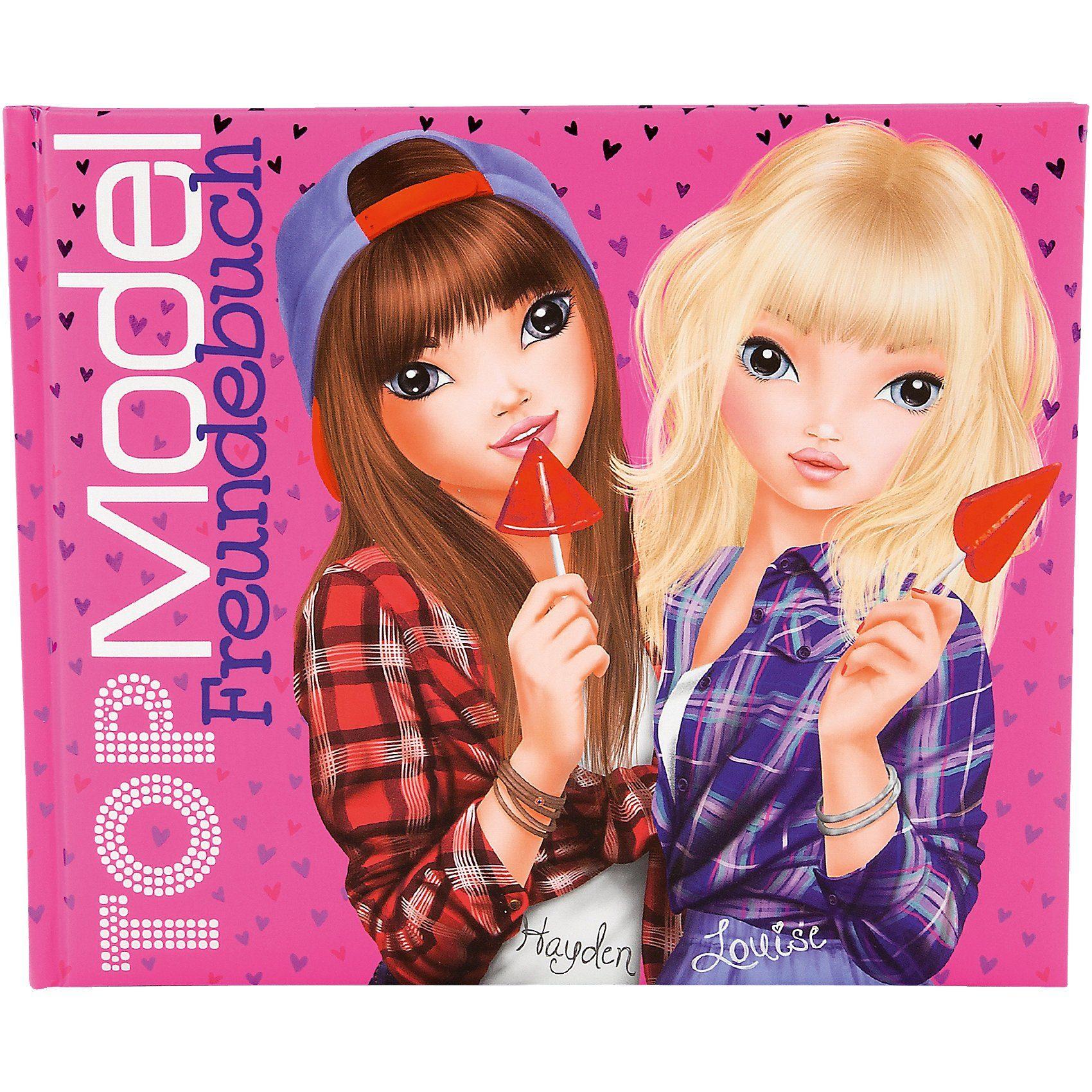 Depesche TOPModel Freundebuch pink