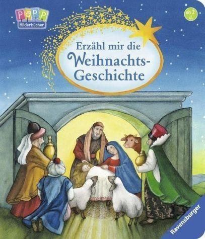 Buch mit Papp-Einband »Erzähl mir die Weihnachtsgeschichte«