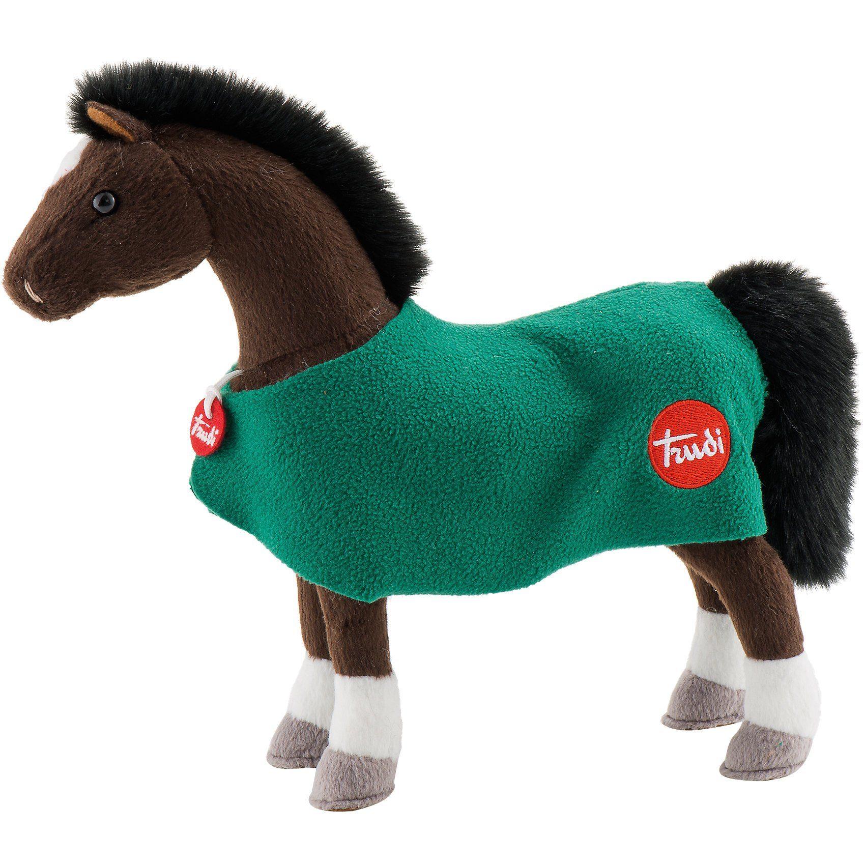 Trudi Pferd Vivi dunkelbraun, 32cm