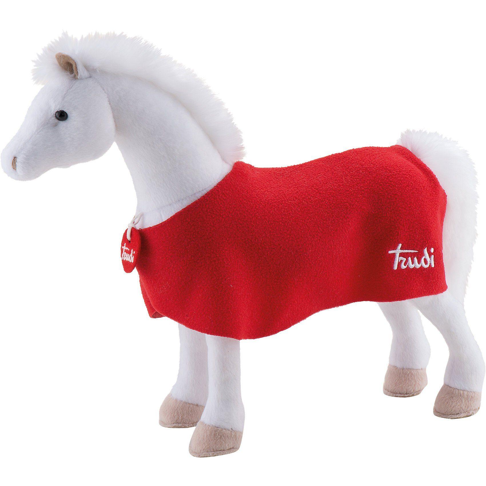 Trudi Pferd Lucky weiß, 42cm