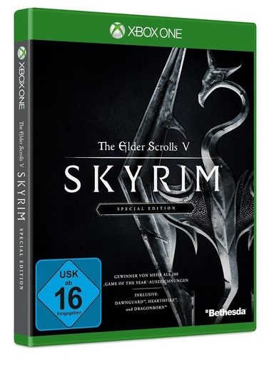 bethesda xbox one spiel the elder scrolls v skyrim. Black Bedroom Furniture Sets. Home Design Ideas