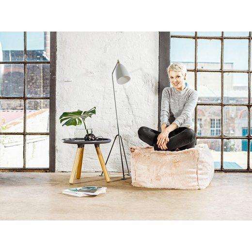 Sitting Point Sitzhocker Loft  80 x 80 cm  ZOBEL uni  Rose