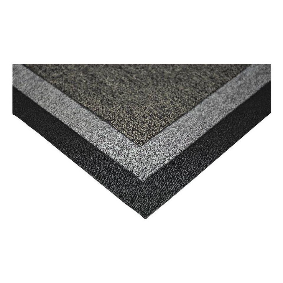 Miltex Fußmatte »Looper« in schwarz