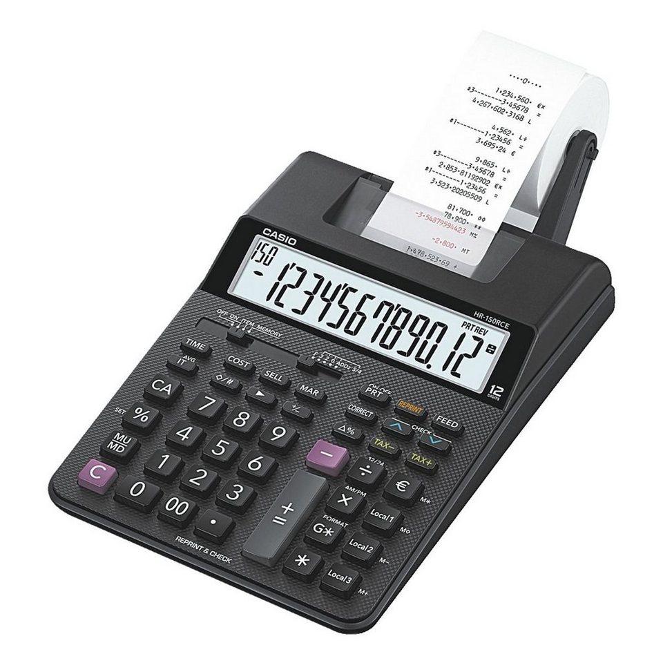 CASIO Druckender Tischrechner »HR-150RCE«