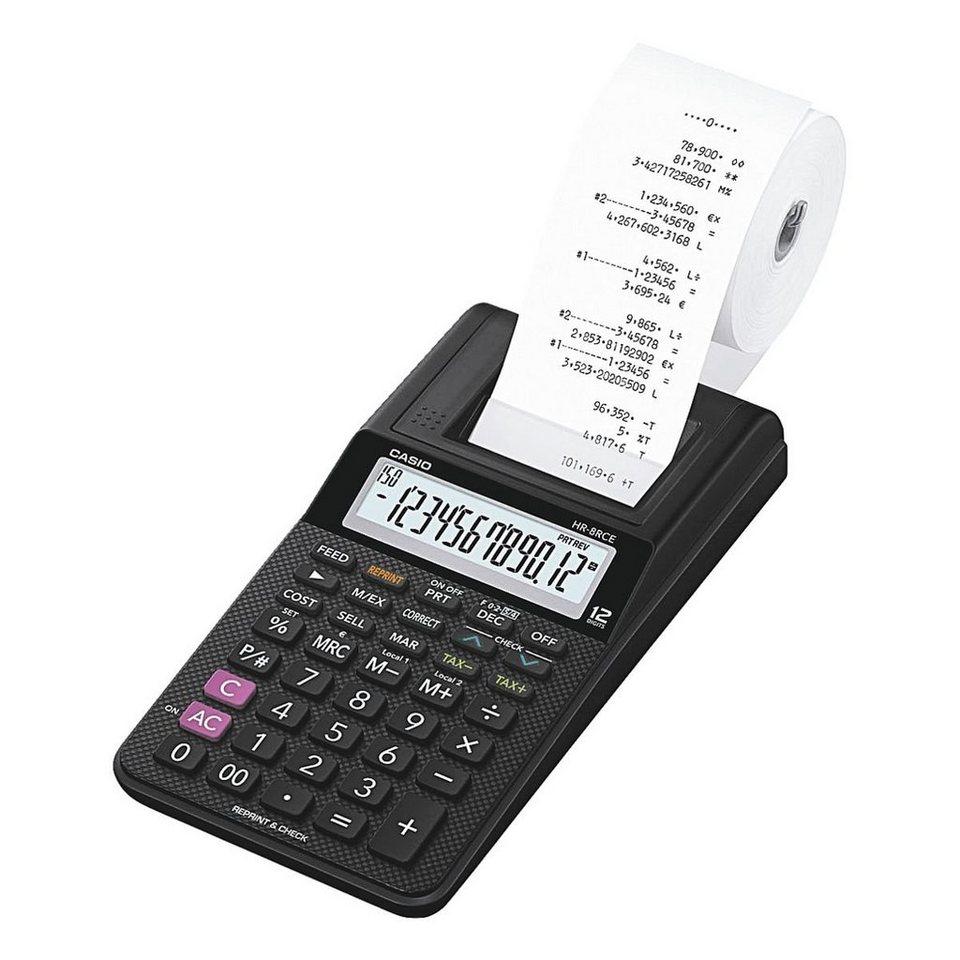 CASIO Druckender Tischrechner »HR-8RCE BK«