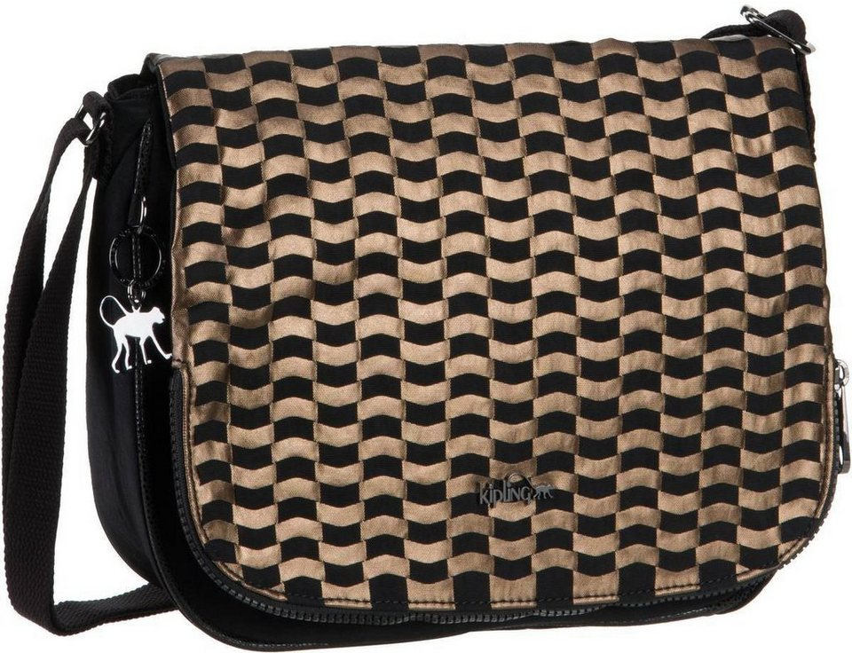 Kipling Earthbeat M HW in Woven Tobacco
