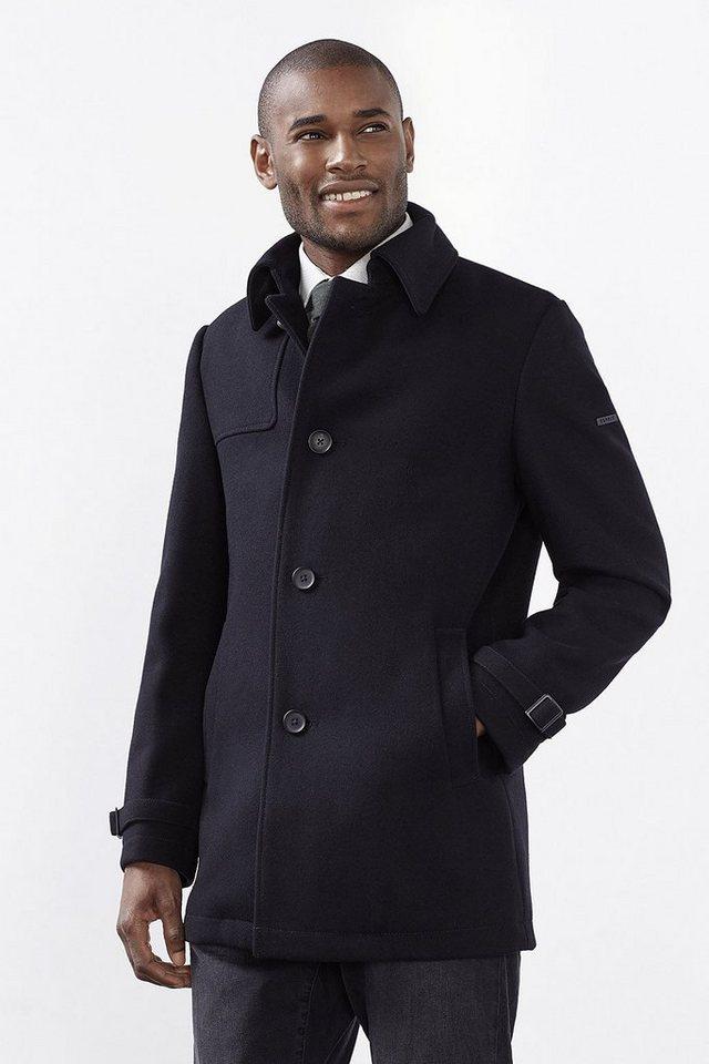 ESPRIT COLLECTION Hochwertiger Trenchcoat aus Woll-Mix in BLACK