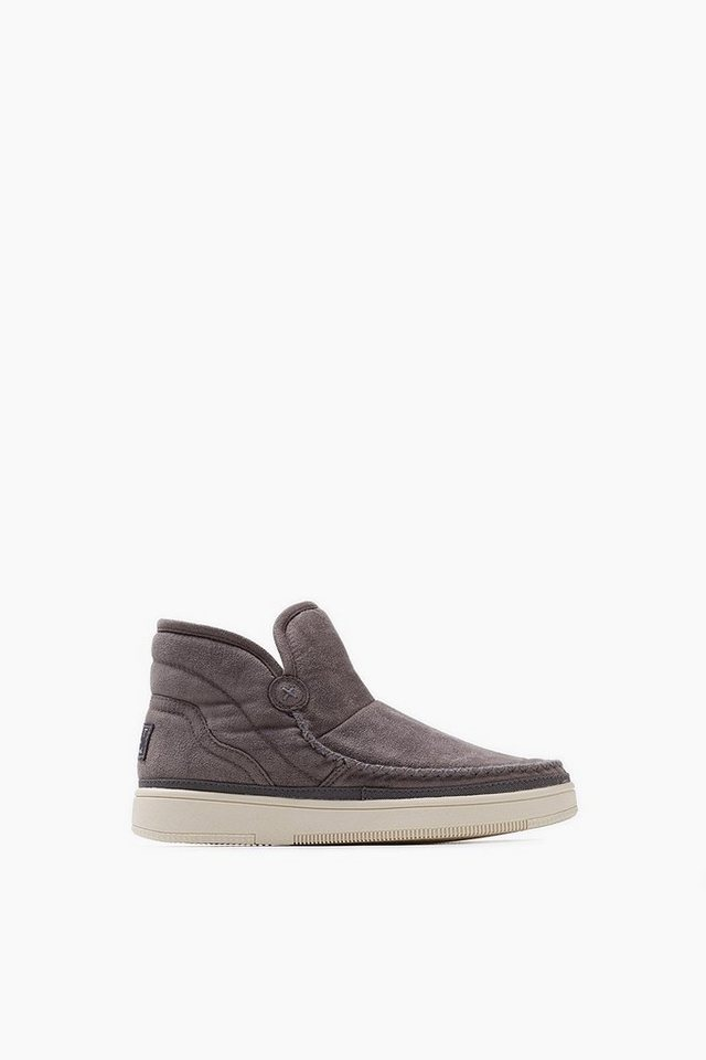 ESPRIT CASUAL Velours Soft Bootie in GREY