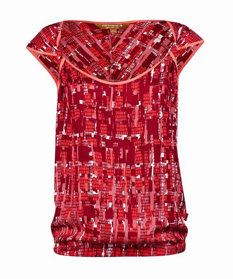 Finside Shirt »JUNA« in 227000 ruby print