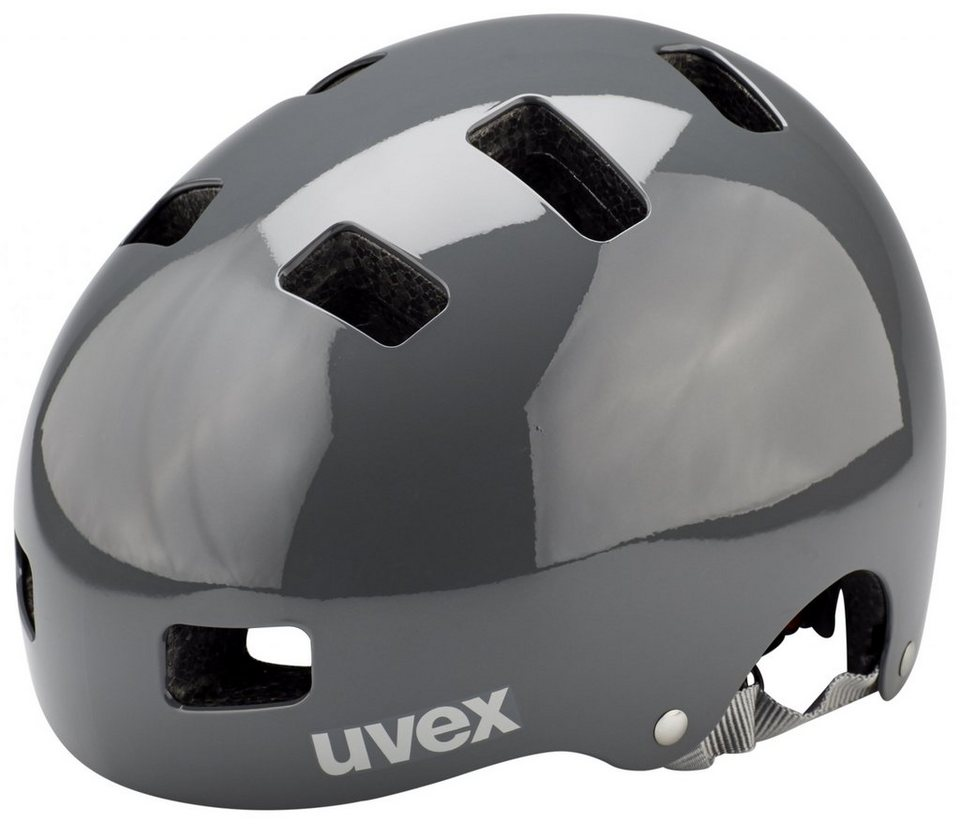 UVEX Fahrradhelm »hlmt 5 bike Helm« in grau