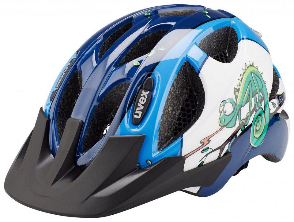 UVEX Fahrradhelm »hero Helm« in blau