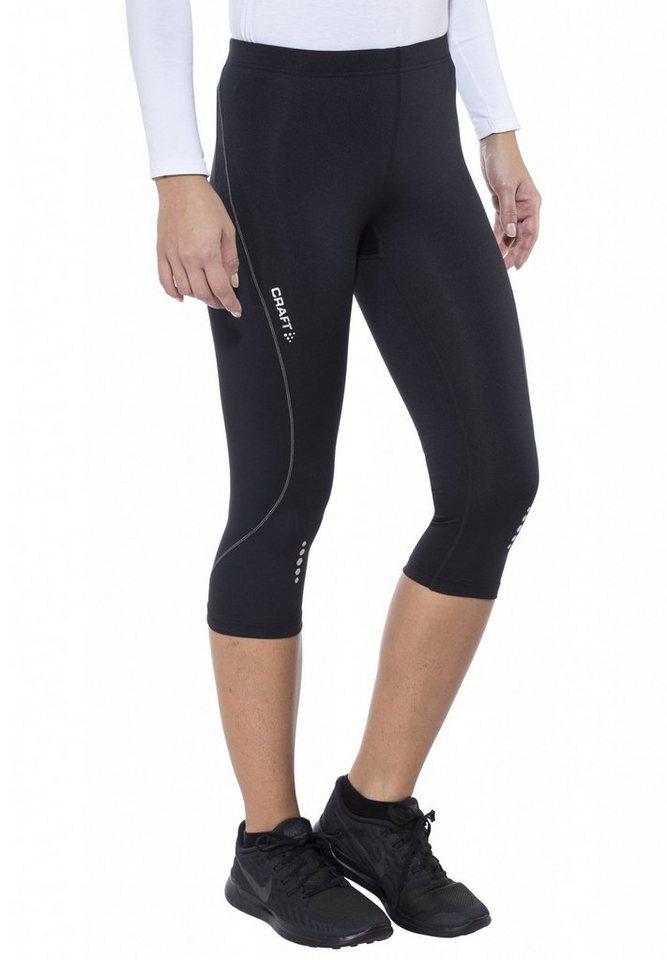Craft Jogginghose »Mind Capri Women« in schwarz