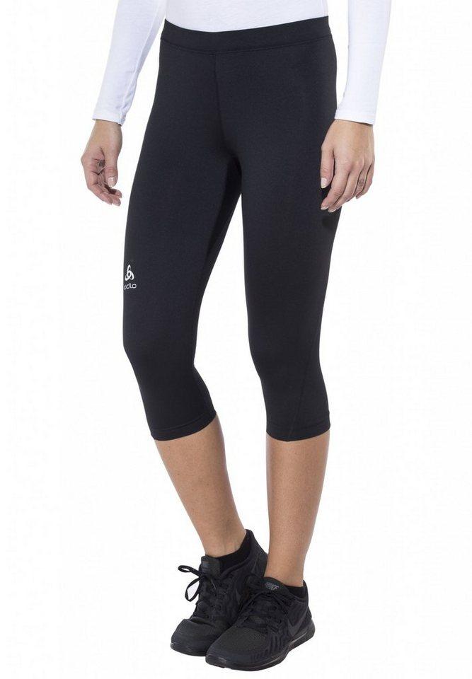 Odlo Jogginghose »Sliq Tights 3/4 Women« in schwarz