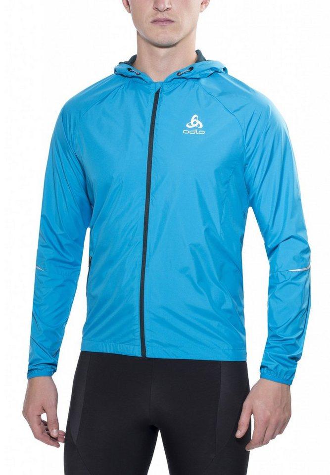 Odlo Trainingsjacke »Scutum Jacket Men« in blau