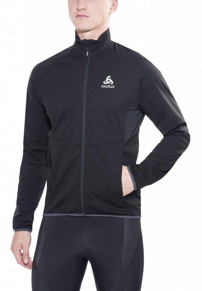 Odlo Trainingsjacke »Stryn Softshell Jacket Men« in schwarz