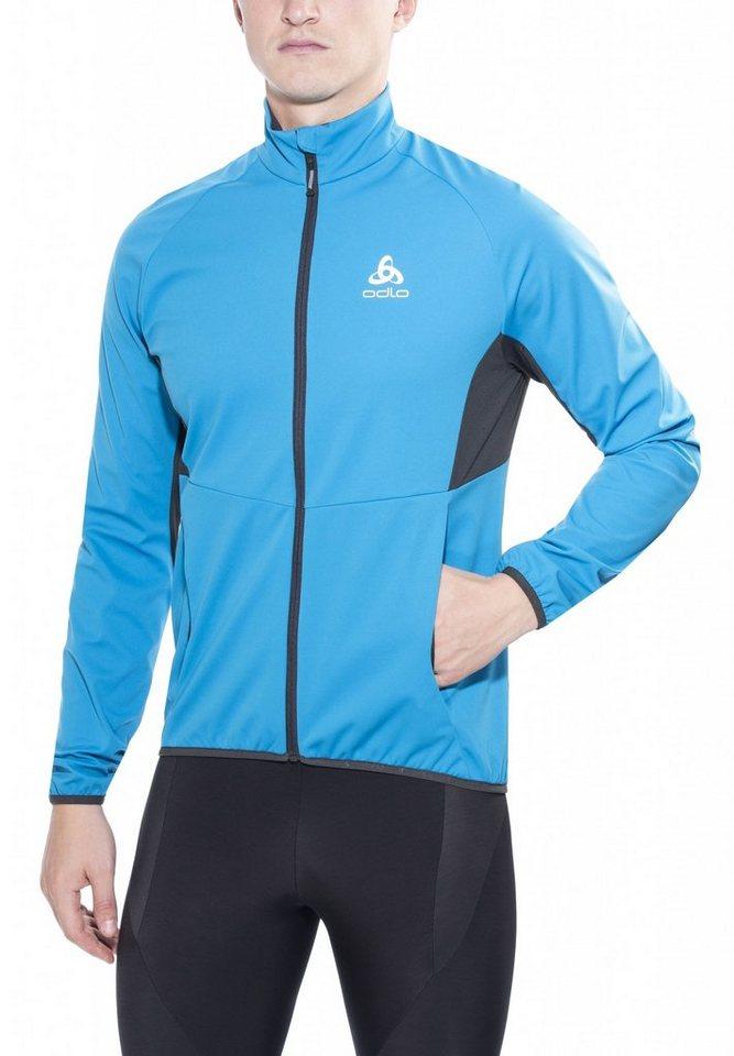 Odlo Trainingsjacke »Stryn Softshell Jacket Men« in blau