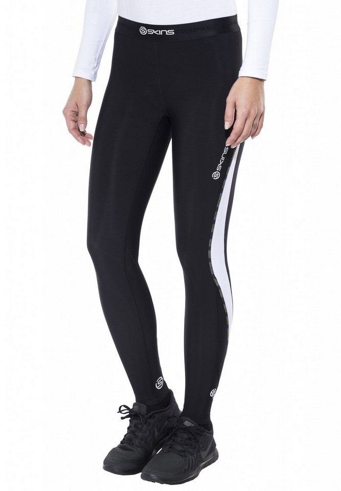 Skins Jogginghose »DNAmic Thermal Long Thigts Women« in schwarz